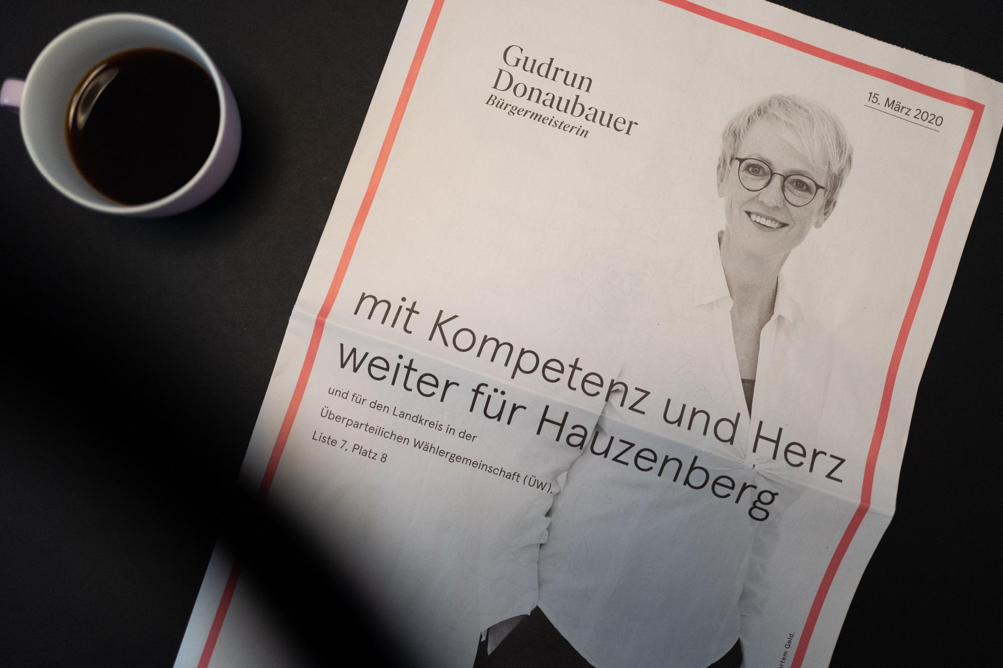 Gudrun Donaubauer Wahlzeitung